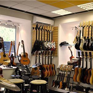 Музыкальные магазины Лебяжьего